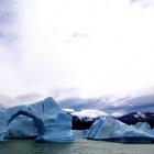 アーチ形をしている流氷