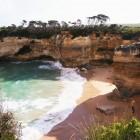 ロックアードゴージの砂浜
