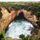 海岸洞窟 サンダーケーブ