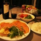 誕生日の夕飯