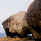 大きな岩がごろごろ