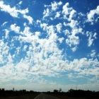 不思議な雲模様
