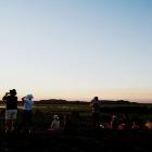 ここは素晴らしい夕日が見られる絶好のスポット