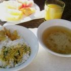 朝食(1回分)が無料