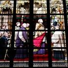 教会内のステンドグラス