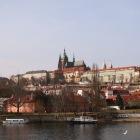 プラハ城の遠景