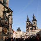旧市庁舎とティン教会