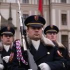 プラハ城正門の衛兵交代式