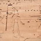 イシス神殿のレリーフ