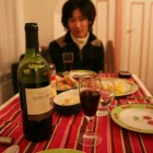 パリでの最後の晩餐