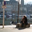 旧港での風景