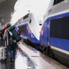 TGV(高速列車)に乗って約2時間半