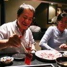 肉の焼き方がとてもお上手な古川さん