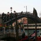 木製のアカデミア橋