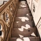階段装飾の影