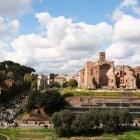 コロッセオから見たフォロロマーノ