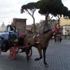 ローマの馬車
