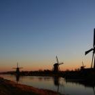 世界遺産の風車