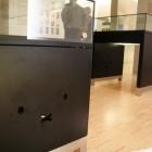 展示室の台も可愛い