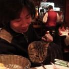 和田さんもネコ派