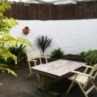可愛らしい庭