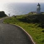 レインガ岬の白い灯台