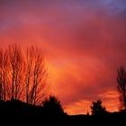 燃えるMARAHAUの空