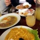ペルーでの初昼食