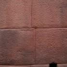 ぴったり密着しているインカの石組み