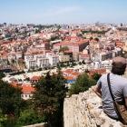 サン・ジョルジェ城からのリスボン