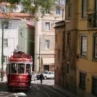 リスボンでは路面電車を利用