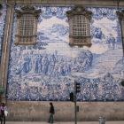 教会の右側の壁