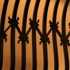 階段の鉄格子
