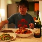 贅沢な夕食