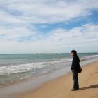 4月1日 人がいない海