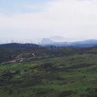 ジブラルタル半島とモロッコが見える!