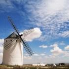 ラ・マンチャ地方でいちばん保存状態がいい風車群
