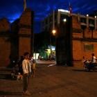 夜のターペー門