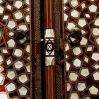 幾何学なドアの模様