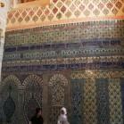 イズニックタイルの壁