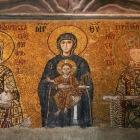 聖母子と12世紀の皇帝ヨハネス2世コムネノス夫妻