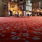 絨毯も素晴らしい