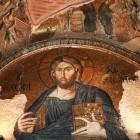 祝福を与えるイエス