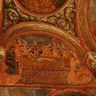 暗闇の教会のフレスコ画