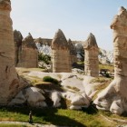 面白くて不思議な岩たち