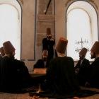 神秘主義修行僧たちの生活を再現している部屋