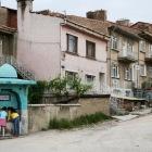 キュタフヤの住宅街