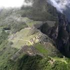 ワイナピチュ山からの眺めです