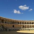 スペインで最初に闘牛が行われたとかで、見学者もちらほら